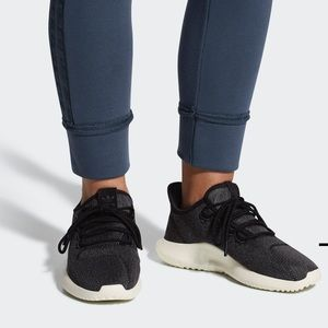 Adidas Originals Tubular Shadow Trainers In Black